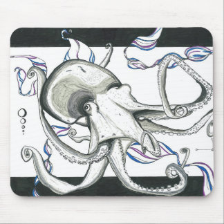 Space Octopus Mousepad
