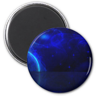 Space Odyssey 6 Cm Round Magnet