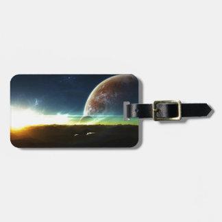 Space on the Horizon Bag Tag
