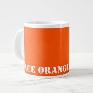 Space orange jumbo mug