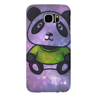 Space panda - BE A puqopuqo mobile phone covering Samsung Galaxy S6 Cases