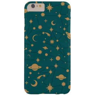 Space pattern barely there iPhone 6 plus case