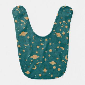 Space pattern bib