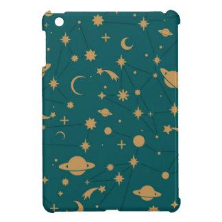 Space pattern iPad mini case