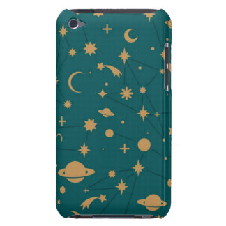 Space pattern iPod touch case