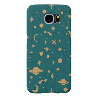 Space pattern samsung galaxy s6 cases