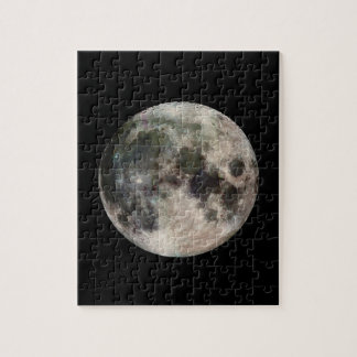 Space Photo of the Moon Jigsaw Puzzles