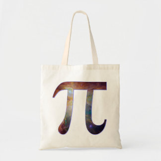 Space pi happy pi day galaxy math geek gift canvas bag