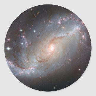 Space Pic Round Stickers
