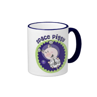 Space_Piggy There s no limit Mugs