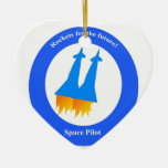 Space Pilot Christmas Tree Ornament