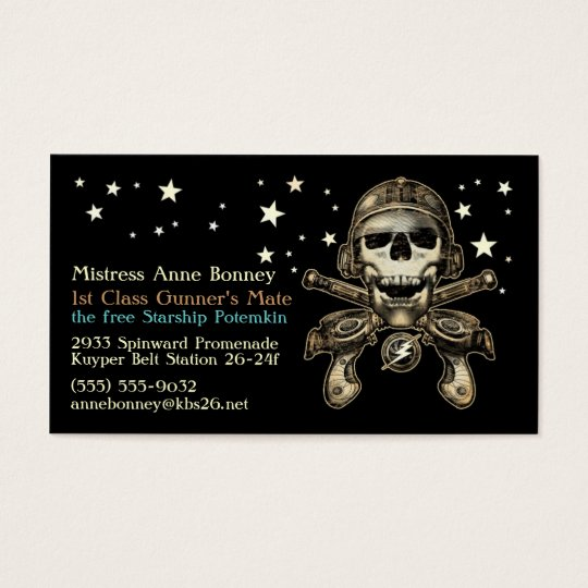 Space Pirate 1 Business Card