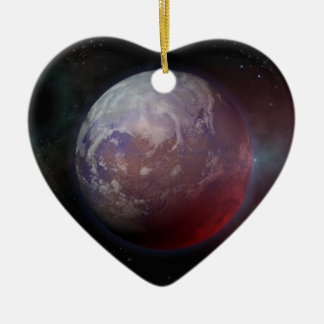 Space Planet Christmas Ornament