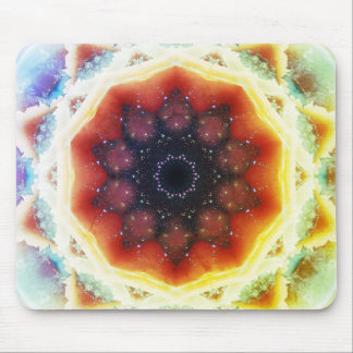 Space Portal Mandala Mouse Mat