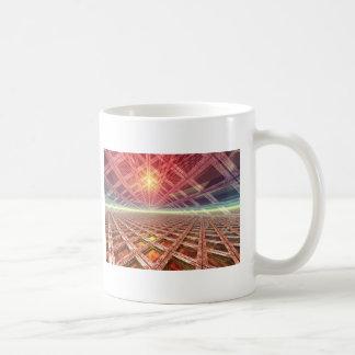 Space Portal To The Stars Basic White Mug
