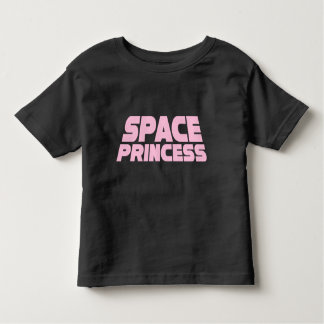 Space Princess - Toddler Fine Jersey T-Shirt Black