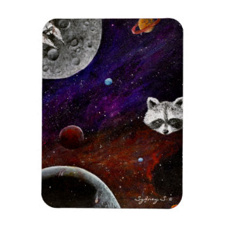 Space Racoons Magnet