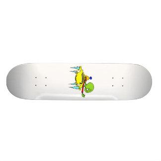 Space Rage Custom Skateboard