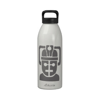 Space Robot Reusable Water Bottle