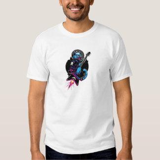 Space rock cat tee shirt