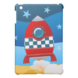 Space rocket - ipad case