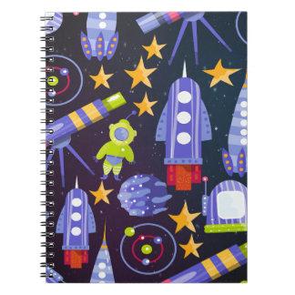 Space Rocket Notebooks