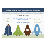Space Rockets Baby Shower Invitation