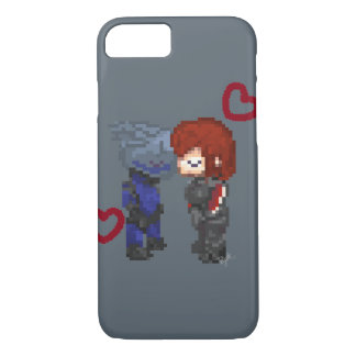 Space Romance iPhone 7 Case