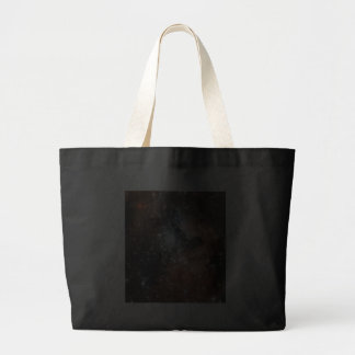 Space scene canvas bags
