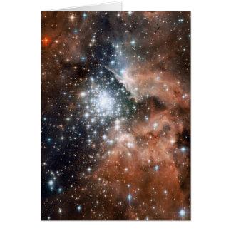 Space scene cards