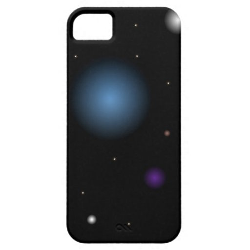 Space Scene iPhone 5 Cases