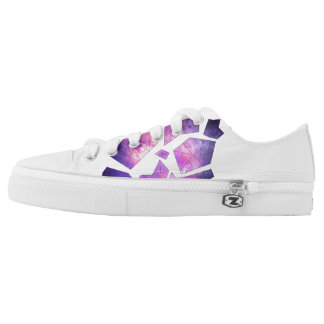 Space Shapes Shoes Printed Shoes
