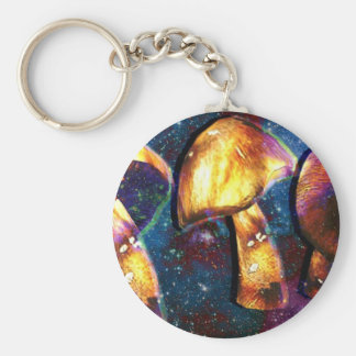 Space Shroomery Key Ring