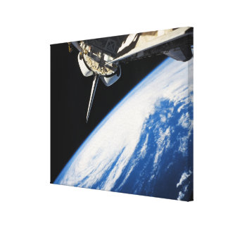 Space Shuttle 6 Stretched Canvas Print