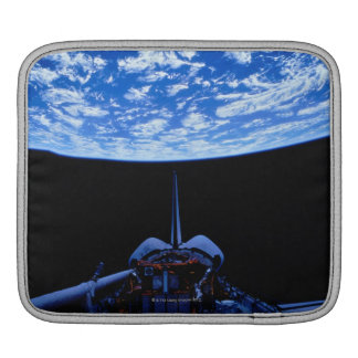 Space Shuttle and Earth iPad Sleeve