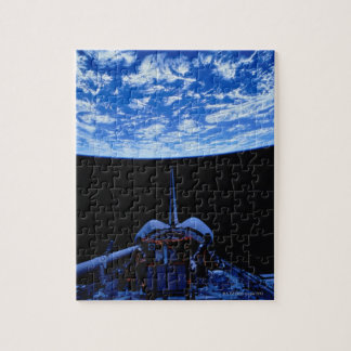 Space Shuttle and Earth Jigsaw Puzzle