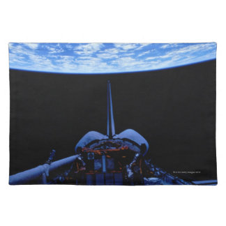 Space Shuttle and Earth Placemat