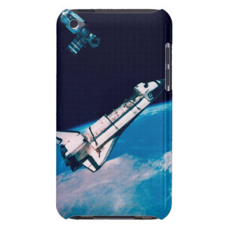 Space Shuttle and Station in Orbit iPod Touch Case-Mate Case
