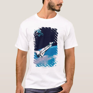 Space Shuttle and Station in Orbit T-Shirt