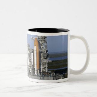 Space shuttle Atlantis 3 Two-Tone Coffee Mug