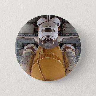 Space Shuttle Atlantis 6 Cm Round Badge