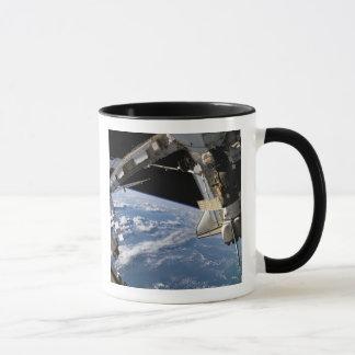 Space Shuttle Atlantis and a Soyuz spacecraft Mug