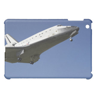 Space shuttle Atlantis approaching Runway 33 2 iPad Mini Cases