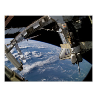 Space Shuttle Atlantis ISS STS-115 Print