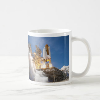 Space Shuttle Atlantis Launching STS-132 Mission Coffee Mug