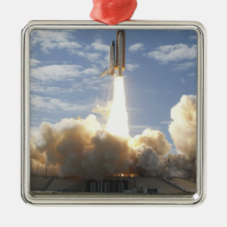 Space Shuttle Atlantis lifts off 10 Christmas Ornament