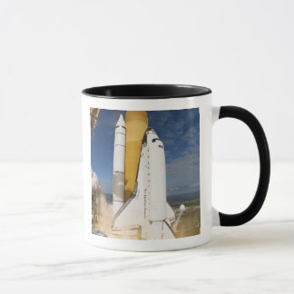 Space Shuttle Atlantis lifts off 12 Mug