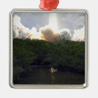 Space Shuttle Atlantis lifts off 14 Christmas Ornament