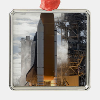 Space Shuttle Atlantis lifts off 15 Christmas Ornament