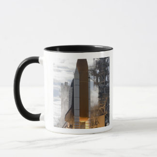 Space Shuttle Atlantis lifts off 15 Mug